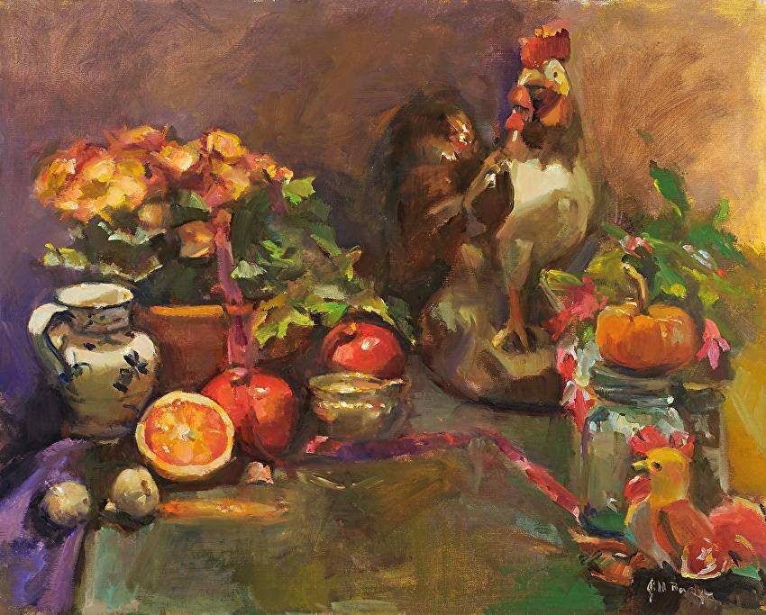 Jill Banks - Work Zoom: The Kitchen Caper