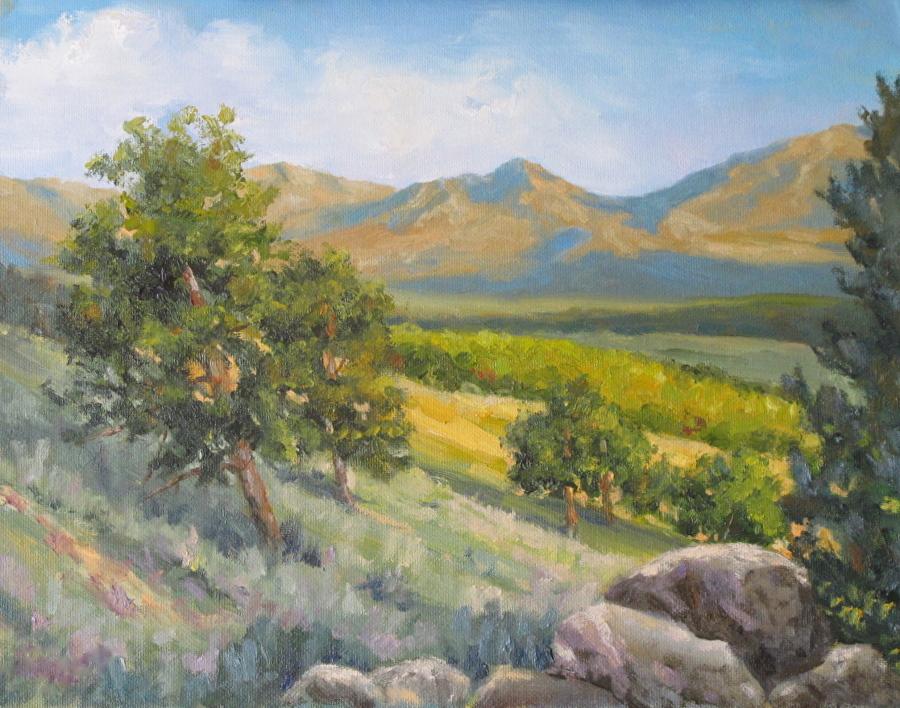COLORADO DAY by Barrett Edwards Oil ~ 11 x 14